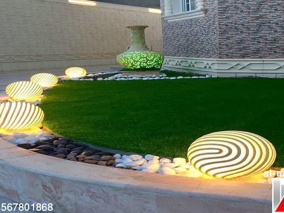 تصاميم الحدائق بالامارات