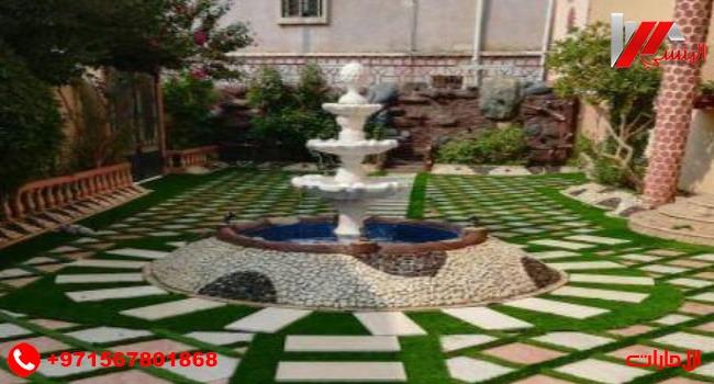 تصميم نافورة حدائق منزلية