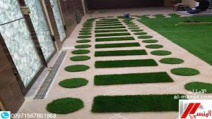 شركة تركيب عشب صناعى ابوظبي