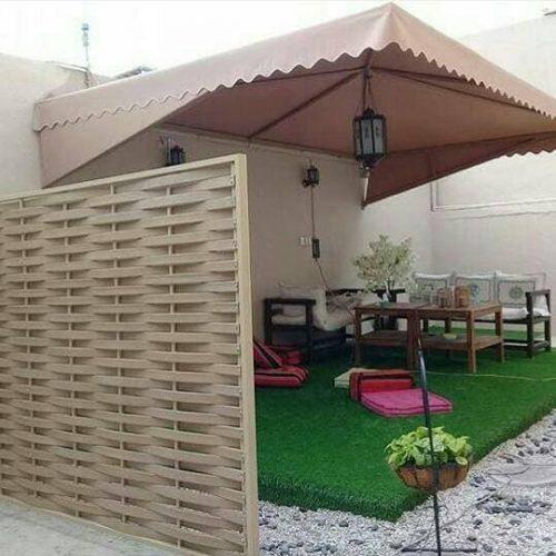 مظلات حدائق منزلية